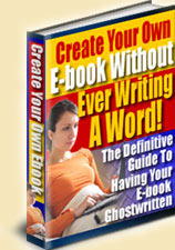 Create Your Own E-Book